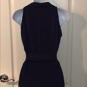 Michael Kors sleeveless maxi waist tie dress
